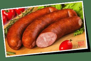 Колбаса полукопчёная, свойства