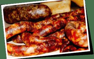 Домашняя копченая колбаса, рецепт