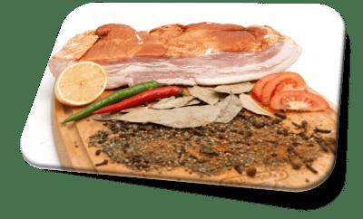 Грудинка свиная б/ш (Черняховские Мясные Деликатесы)